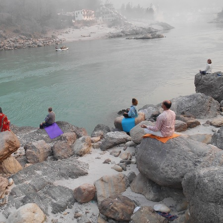 300 Hour Guided Meditation Teacher Training Certification Course in Rishikesh India - Meditation Teacher Training India
