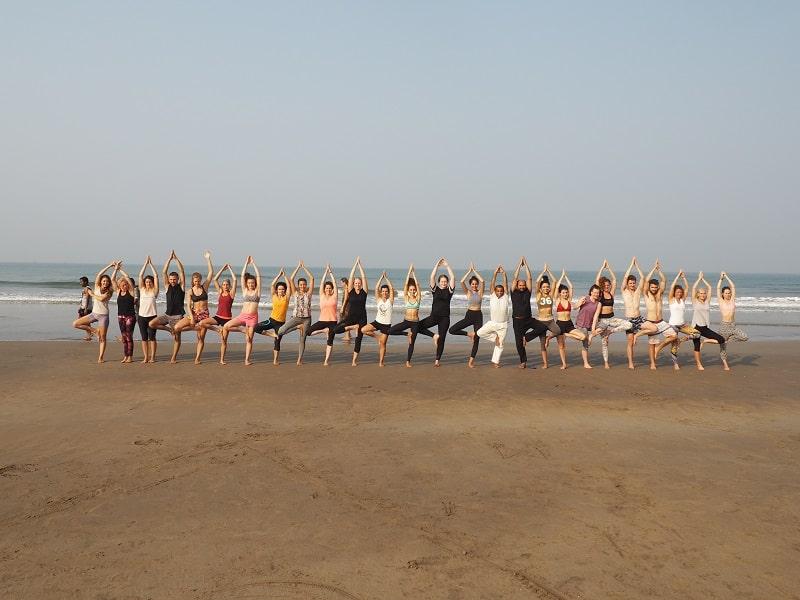 Mantra Yoga School Goa India - Yoga TT Course India