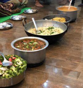 Meals at Mantra Yoga & meditation School Rishikesh