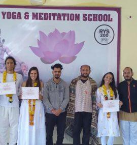 Yoga Meditation Teacher Training Certification Rishikesh India